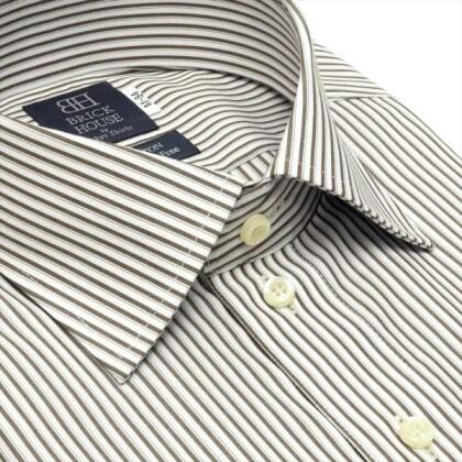 綿100%超形態安定シャツ