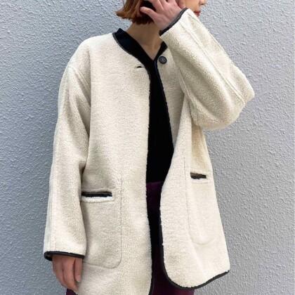 リバーシブルパイピングジャケット