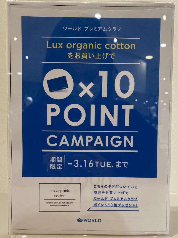 〜キャンペーンのお知らせ〜