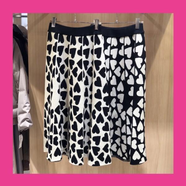 《NEW ARRIVAL》★ハートニットスカート