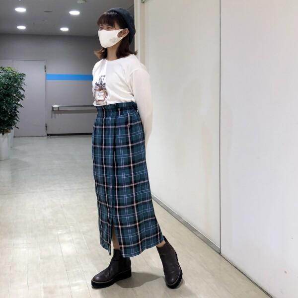 《New arrival》★チェック柄タイトスカート