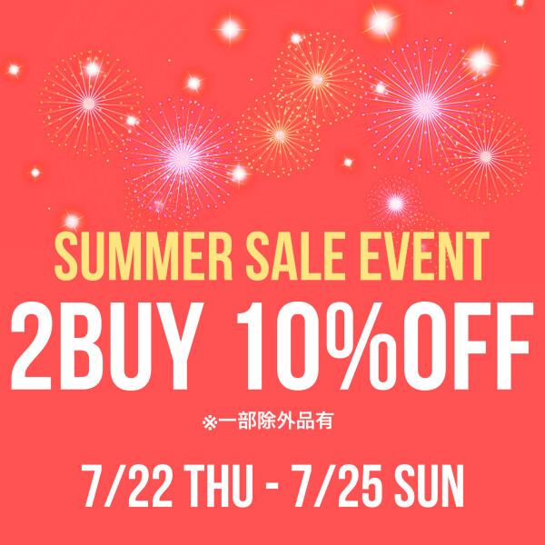 ラストスパート!SUMMER SALE ★2buy10%off★