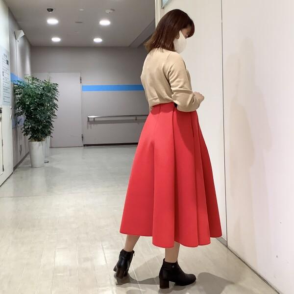 《New arrival》★ボンディングフレアスカート
