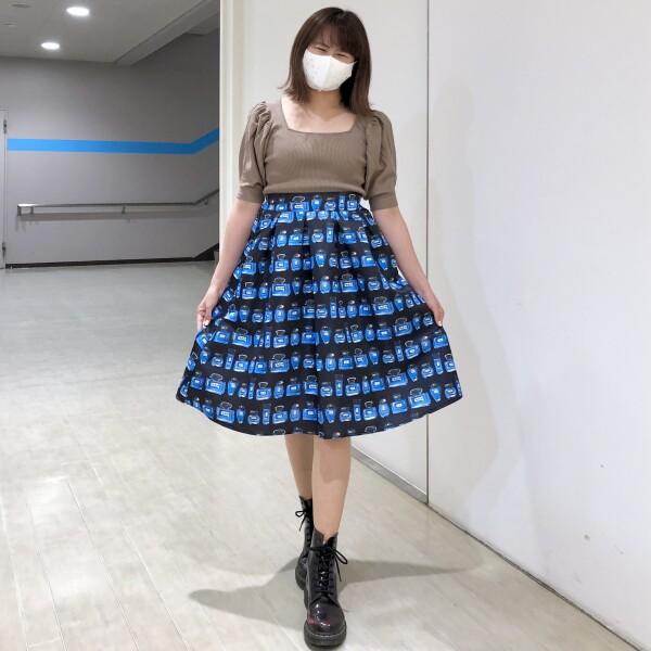 《New arrival》★香水フレアスカート